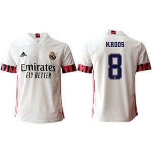 Real Madrid Toni Kroos White 20-21 Jersey